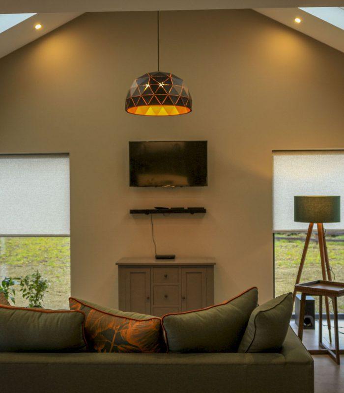 Lounge area of building